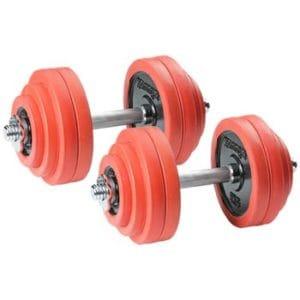 リバースグリップダンベルプレスの効果的な重量設定・回数・セット数について