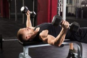 ダンベルフライをより大胸筋に効かせるコツ 可動域を大きく動かす(大胸筋をしっかりストレッチさせる)
