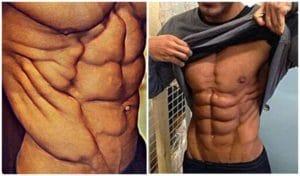プッシュアップバーで鍛えられる筋肉 腹斜筋(腹筋側面)