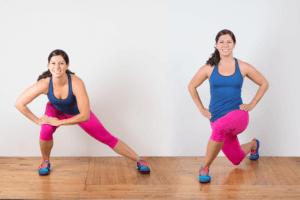 ランジ効果②:体幹の安定性向上