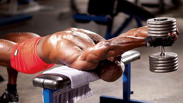 大胸筋に新たな刺激!ダンベルプルオーバーのやり方と重量設定・効果を高める5つのコツ | ゴリペディア