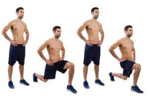 ランジはより体幹を鍛えられる