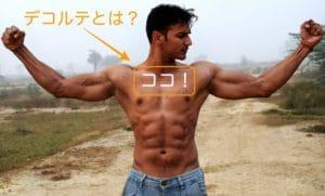上体の筋肉