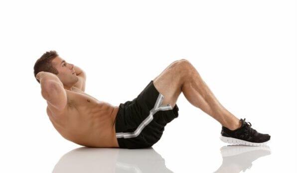 スクワット15回は腹筋500回分の効果がある