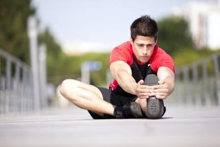 クールダウンで筋肉を癒す