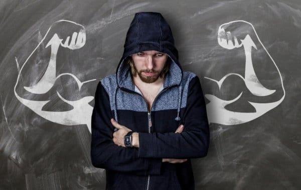 腹筋が割れない理由や原因その6・筋肉量が少ない