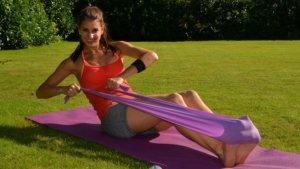 体幹(腹筋)チューブトレーニングの効果的なセット数について