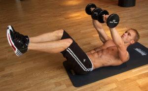 ダンベルを使用した腹筋トレーニングの効果を高めるポイント