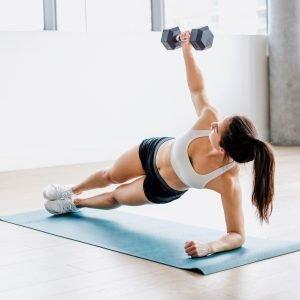 ダンベルを使用した腹筋トレーニングの効果やメリットとは?