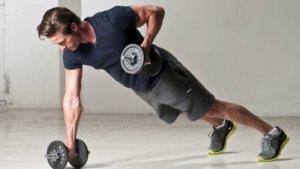 マシン筋トレでは難しい体幹が鍛えられる