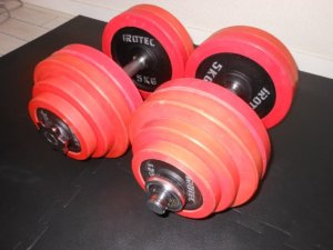 それぞれのダンベル重量の特徴