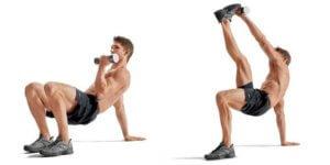 ダンベルを使用した腹筋トレーニングで間違いやすいフォームと対策について
