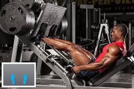 レッグプレスを効果的に効かせるポイント④「両足を下方にセットする」