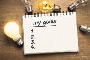 家トレでモチベーションを高める方法①「見える位置に目標を貼る」