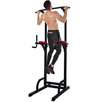 背中を効果的に鍛えるトレーニング器具①「懸垂マシン(ぶらさがり健康器具)」