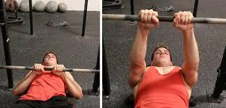 ナローベンチプレスで鍛えられる「上腕三頭筋」とは