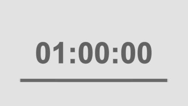 筋トレの理想的な時間は「1時間」以内!