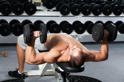 背中を効果的に鍛えるトレーニング器具③「トレーニングベンチ」