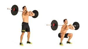 フロントスクワットの効果的なポイント③「両肘の位置を維持する」