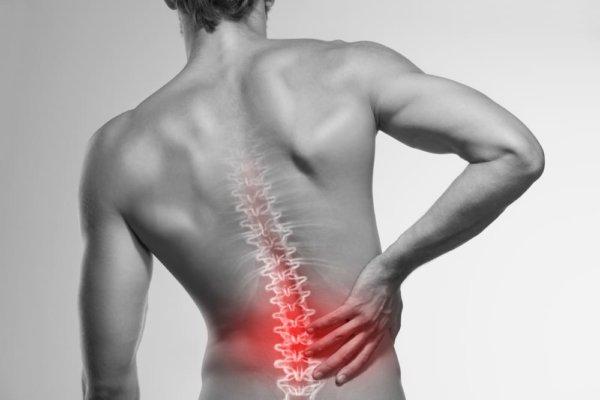 フロントスクワットの筋トレ効果④「腰への負担が低い」
