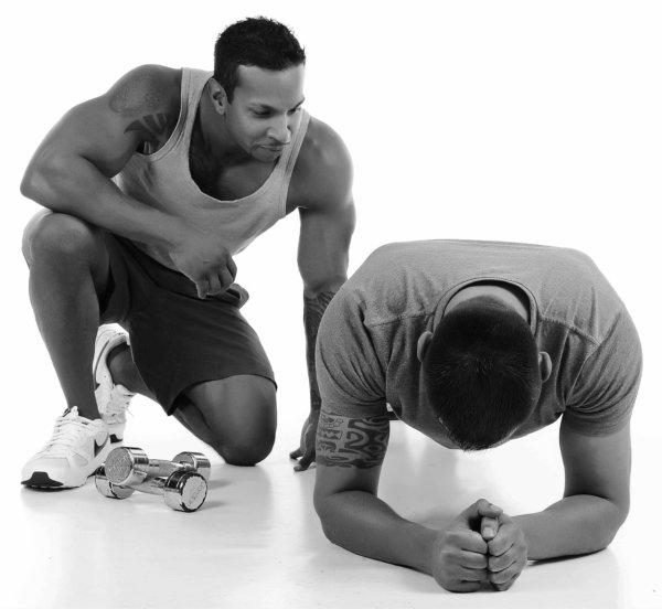 トレーニングウェアの重要性④筋肉を見ながら鍛えられる