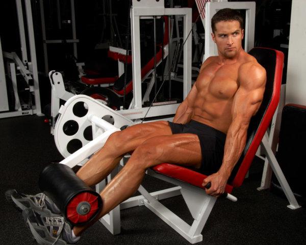 レッグエクステンションの筋トレ効果④「大腿四頭筋を集中して鍛えることができる」