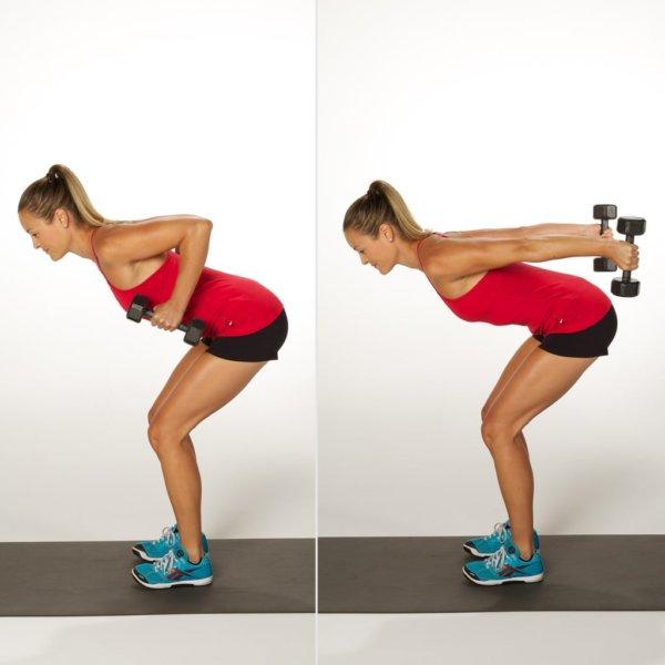 トライセプスキックバックの効果的なコツ⑤「肘を絞るように伸ばし切る」