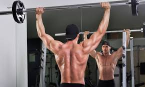 ショルダープレスの効果的なコツ①「肘を伸ばしきらない」