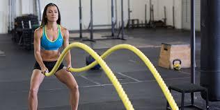 バトルロープトレーニングの筋トレ効果①「高い有酸素効果」