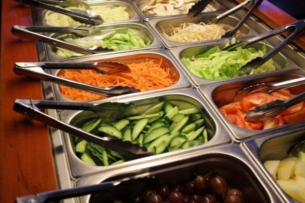 緑黄色野菜を食べる