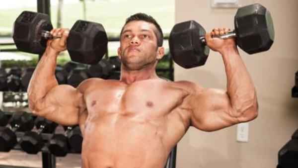 【筋トレ中級者~上級者】ショルダ―プレスの重量設定「体重の60%~90%」がおすすめ
