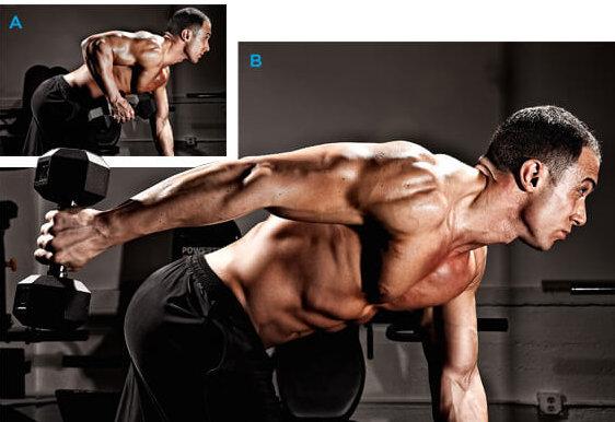 トライセプスキックバックの効果的なコツ③「肘の角度を90度以上曲げないよう動作する」