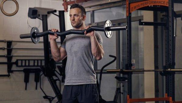 EZバーを利用したトレーニングの効果③「高重量を利用せずとも高い筋トレ効果に期待できる」