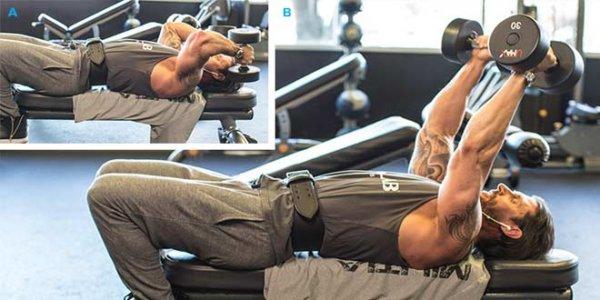 上腕三頭筋にダンベルがおすすめな理由①「上腕三頭筋を鍛えるバリエーションが多い」