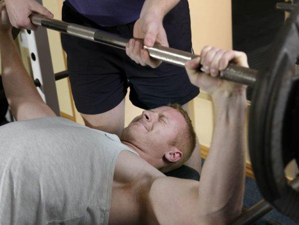 オールアウトのやり方・コツ①「使用重量による筋トレ強度」