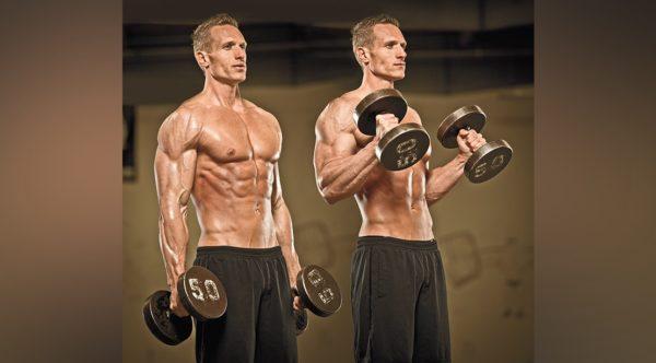 改善方法「重量を軽くして肘関節屈曲だけを純粋に行っていく」