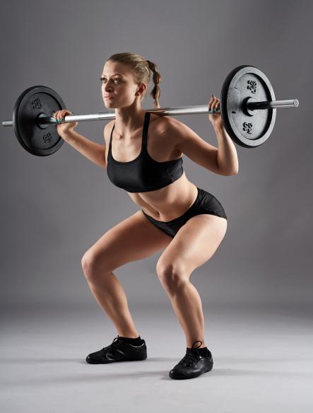 効果のない筋トレの原因④「ウェイトの重量・回数」ありがちな間違い「しゃがむ位置が浅い」