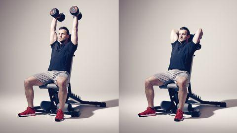 改善方法「重量を軽くして肘関節伸展だけを純粋に行っていく」