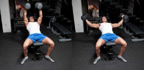 ありがちな間違い「動作中に肘の角度が変わっている」