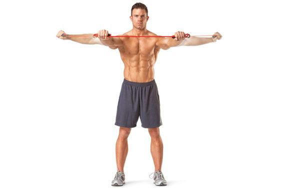 チューブトレの効果的なコツ②「筋肉のストレッチ時(伸展時)にチューブがたるまないよう注意する」