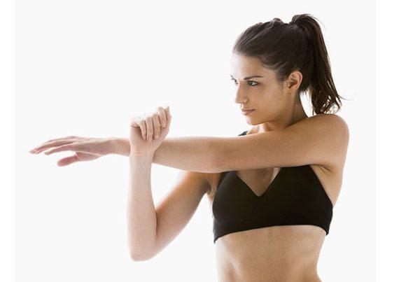 「ストレッチで筋肉の緊張を緩和する」