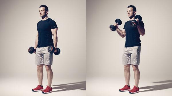 腕橈骨筋の筋トレ効果を高めるコツ①「完全収縮・完全伸展を意識する」