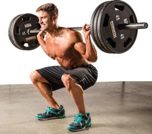 スクワットは「体幹強化・下半身の筋力強化・筋肥大」目的におすすめ