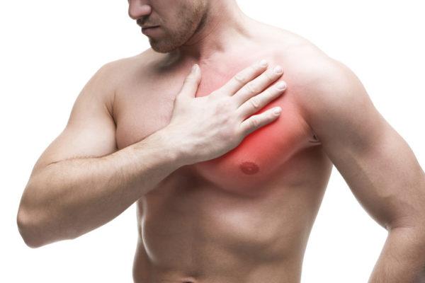 大胸筋を集中的に鍛えられる