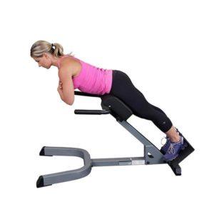 背筋のトレーニングマシン⑤「ハイパーエクステンションベンチ」