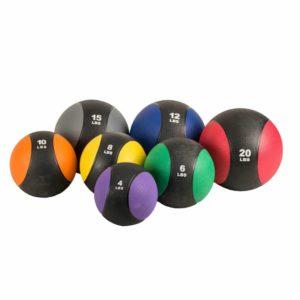 腕立て伏せの効果的な器具⑤「メディシンボール」