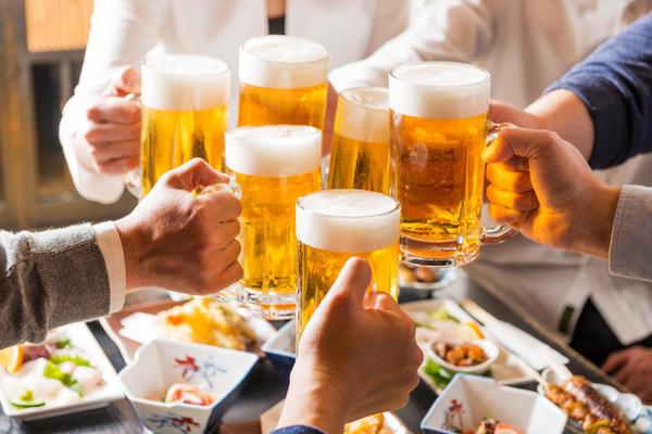 アルコールは筋肉の合成を減少させる!?