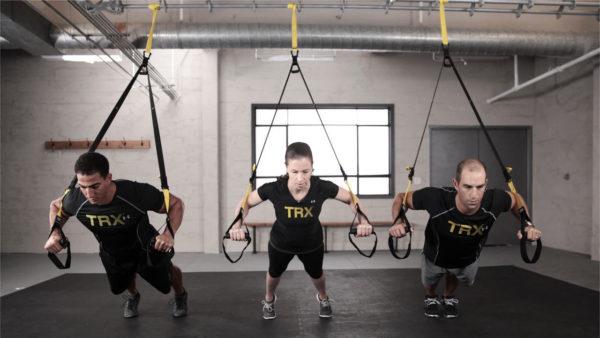 腕立て伏せの効果的な器具⑦「TRXサスペンショントレーナー」