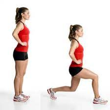 自重の全身運動トレーニング⑥「ランジ」